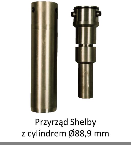 Shelby soil sampler for undisturbed samples