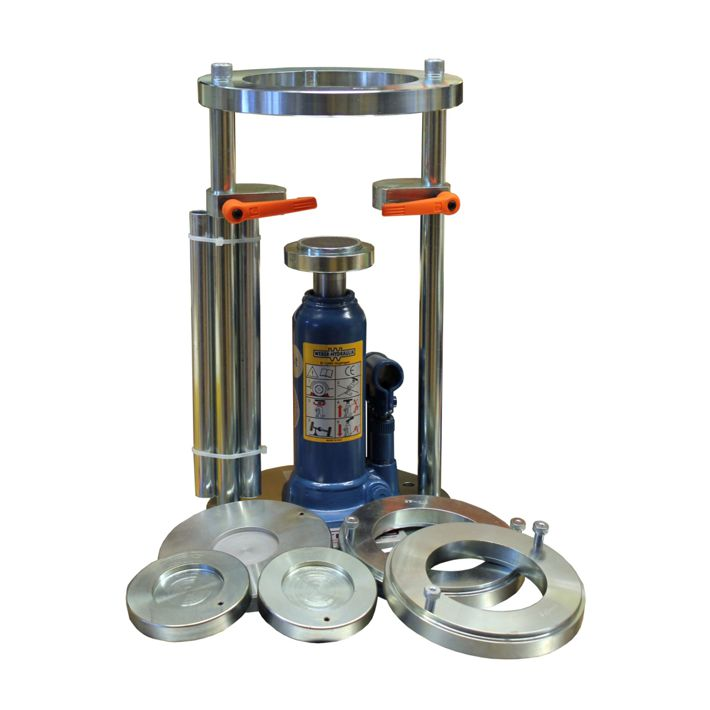 universal hydraulic sample extruder 50 kn sample extruder